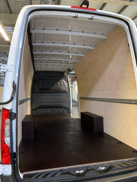 Profesjonalna zabudowa busa furgonu Ducato Master Boxer Crafter i inne