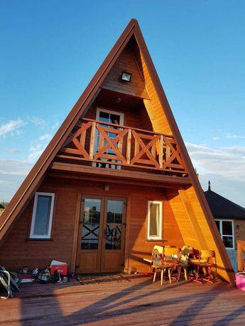 Wynajmę domek nad jeziorem w Ostrowite