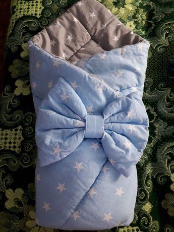 Продаю Конверт для новорождённого одеяло в коляску.