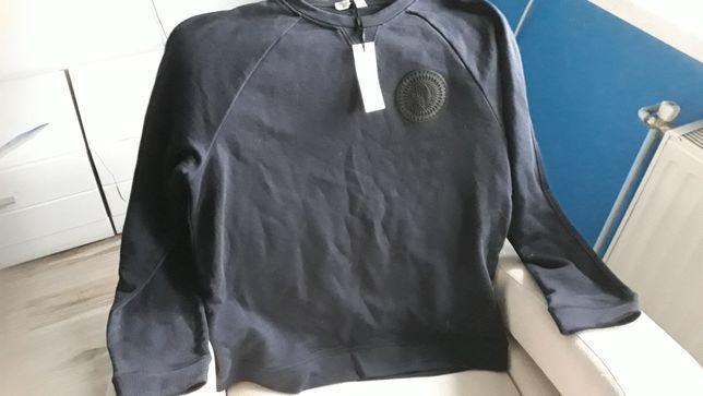 Oryginalny sweterek firmy Versace w kolorze granatowym rozmiar xl