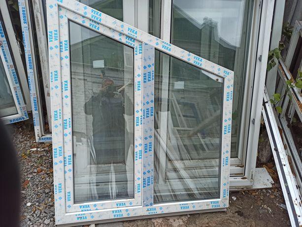 Продам окна500грн. двери пластиковые