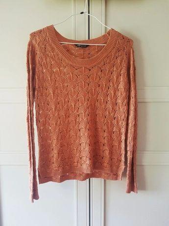 Ażurowy sweter XS