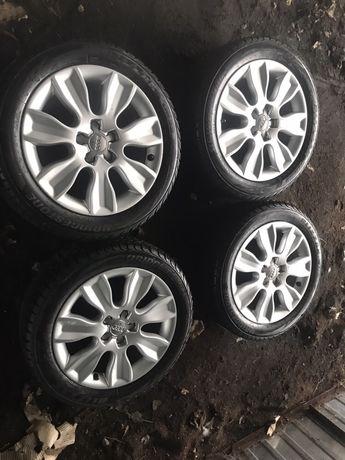 Felgi aluminiowe Audi 16 z zimowymi oponami