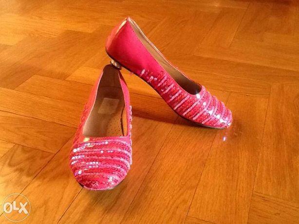 Нарядные туфли на девочку 33 размер
