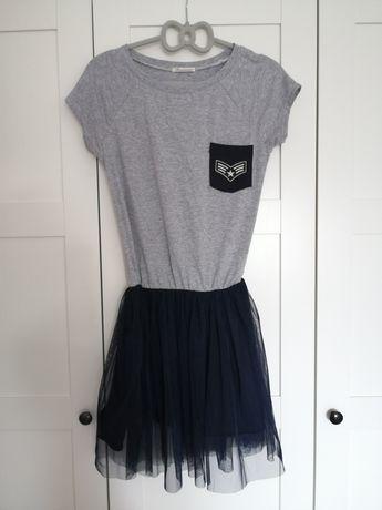 Sukienka dziewczęca 164 bądź XS