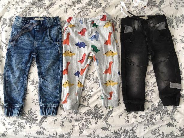Spodnie chlopiece r86