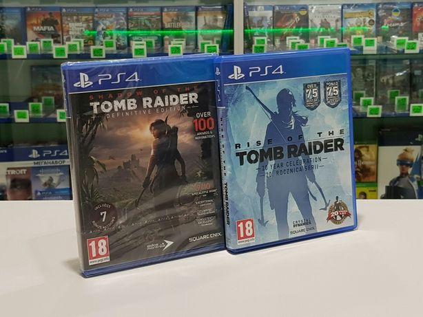 New Rise of the Tomb Raider Ps4 Магазин Обмен Пс4 Playstation