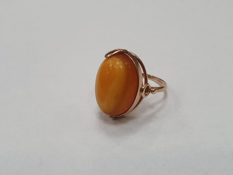 Retro! Piękny złoty pierścionek/ 585/ 4.38 gram/ R15/ Świętojańska 40 Gdynia - image 1