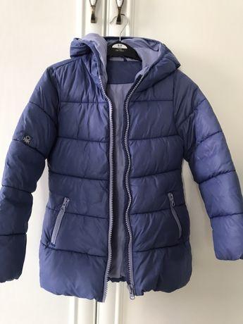 Зимняя Куртка на девочку Benetton S(6-7)