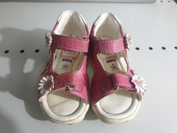 Sandały dziewczęce rozmiar 21
