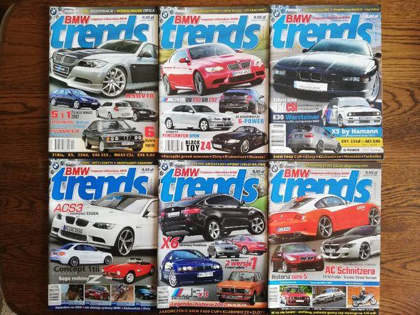 BMW Trends czasopisma wszystkie od nr.4 z 12/ 2006 do nr.68 12/2018