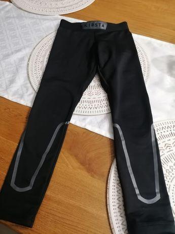 Spodnie/Leginsy termoaktywne Kipsta 123/130 ocieplane. Idealny stan.