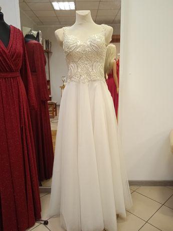 Suknia ślubna używana rozm. 36-38