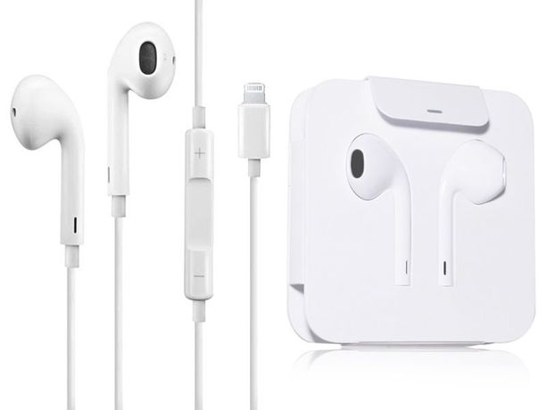 NOWE słuchawki Apple Earpods lightning mikrofon - Oryginał Apple!