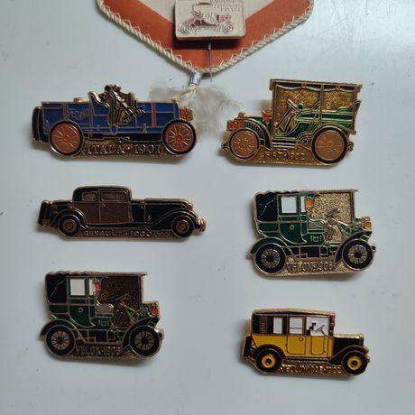 Значки автомобилей 80-90 года