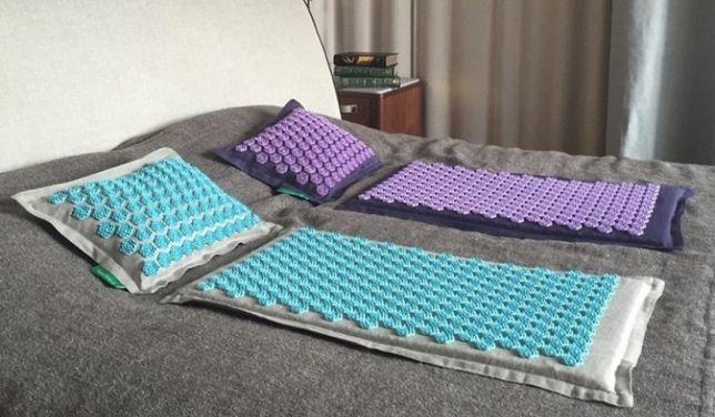 ПОДАРОК! Pranamat Eco массажный комплект (коврик и подушка) Пранамат