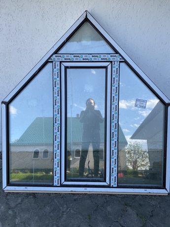 Вікно з металопластикового профілю