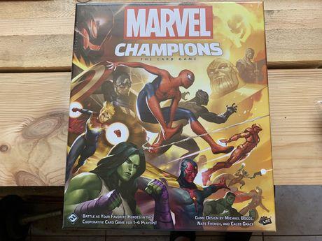 Zupełnie nowa, zafoliowana gra planszowa Marvel Champions