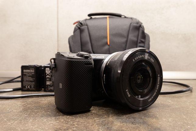 Aparat Bezlusterkowiec Sony NEX 5T + obiektyw 16-50 zestaw