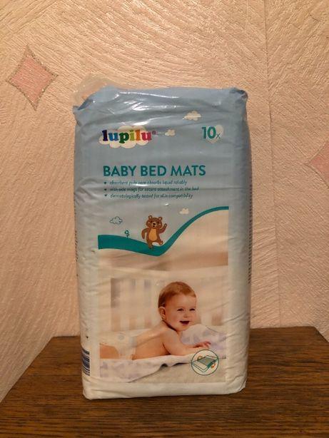 Пеленки гигиенические одноразовые для детей Lupilu 10 шт 60 x 80 см