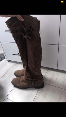 Wysokie buty zimowe damskie