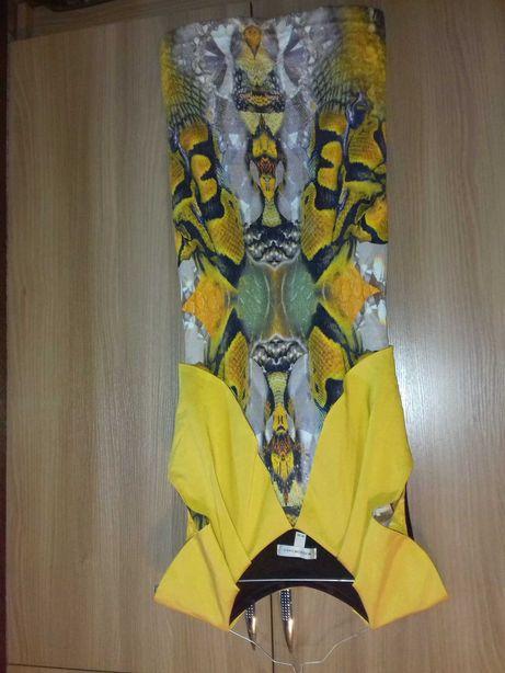 Платье желтое WAGGON Paris