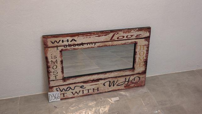 lustro w ramie Vintage