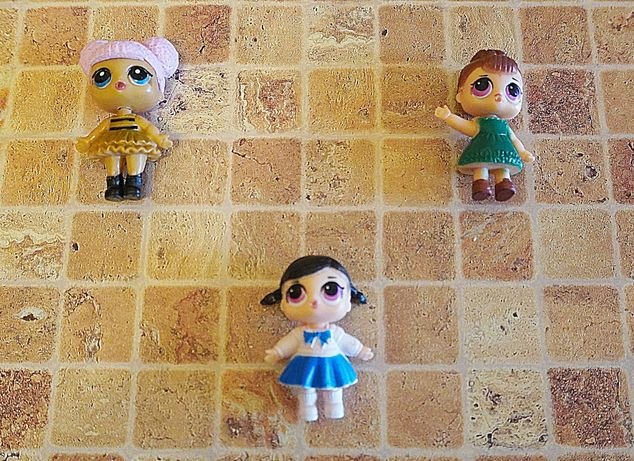 Куклы LOL 8 штук, 5 большие и 3 пупса