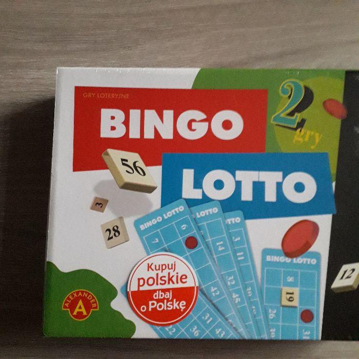 Bingo + Lotto zestaw 2 gier nowe!! Lublin - image 1
