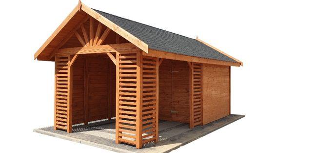 Domek narzędziowy drewutnia altana domki narzędziowe drewutnie 6x3m