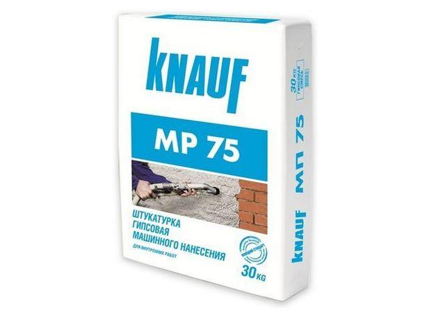 Машинная штукатурка МП-75 Knauf (кнауф)