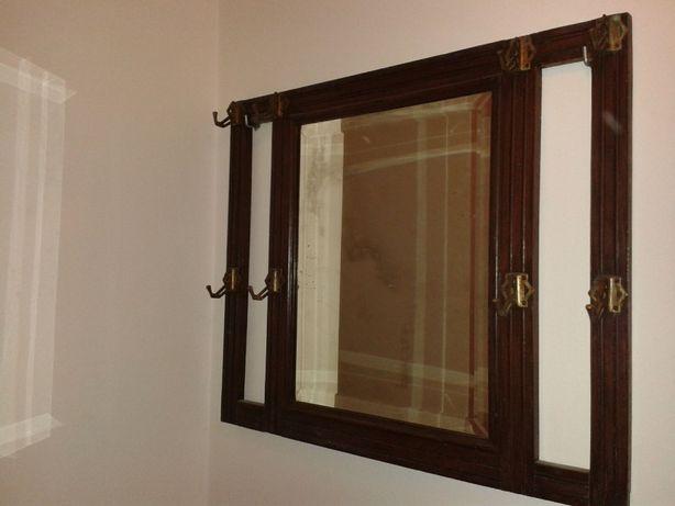 Bengaleiro espelho antigo