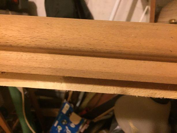 Porecze drewniane jesinowe 2szt