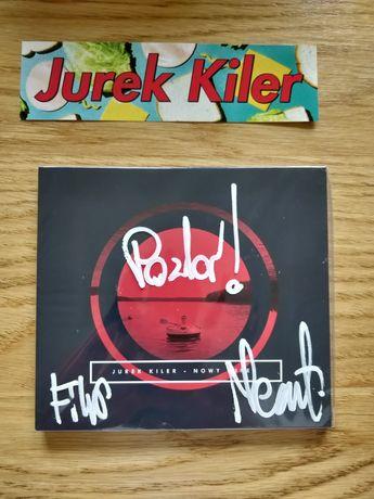Jurek Kiler Nowy Jurek CD folia autografy nnjl