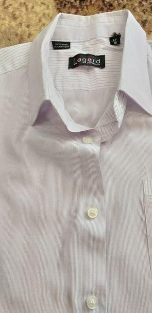 """Рубашка """"Lagard"""" белая с коротким рукавом , 145-155, 2 шт. за 80 грн."""