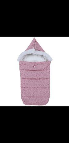 Зимний термо конверт Chicco Amelia с капюшоном футмуф на выпис