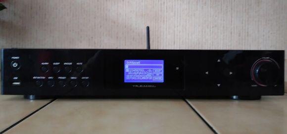 Tuner radio internetowe z pilotem wifi kabel usb cinch lan