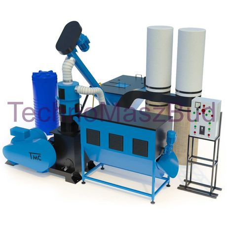 Linia do pelletu, peleciarka, granulator LDG-3000 25kW