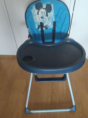 Cadeira alta bebé mickey