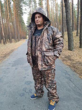 Зимний костюм для рыбалки и охоты Нива из ткани Дюспобондинг усиленный