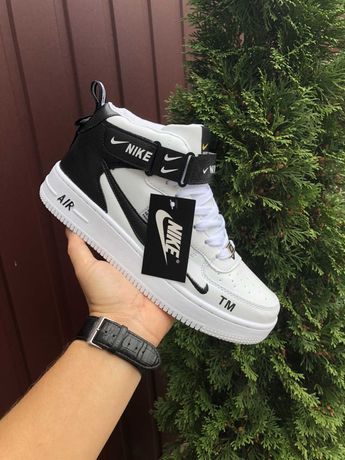 Кроссовки зимние Nike Air Force, размеры 36-45, +2 расцветки