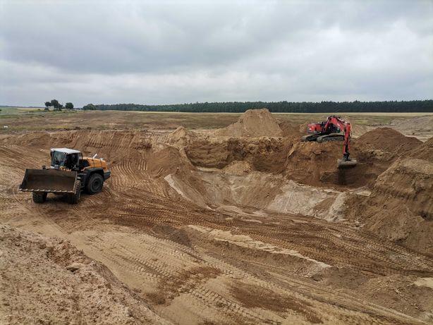 Żwir, piasek, piasek pod fundamenty