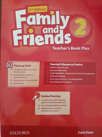 Teacher 's Book Family and friends 1 та 2 рівень,нові з дисками