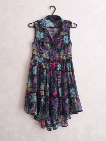 Шикарное летнее лёгкое платье на рост 146, 152, 160