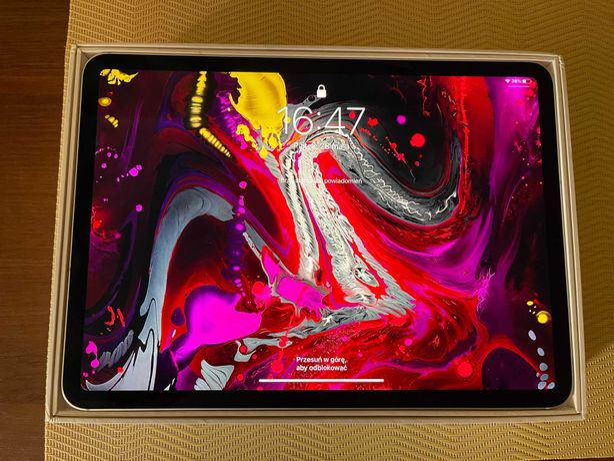 Tablet iPad pro 11 64 GB LTE, srebrny