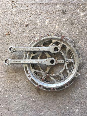 Pedaleira bicicleta vintage