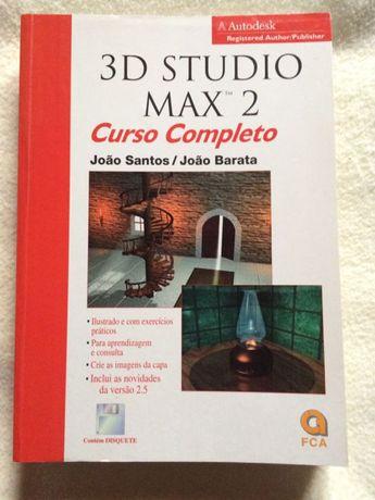 Livro 3D Studio Max 2 curso completo