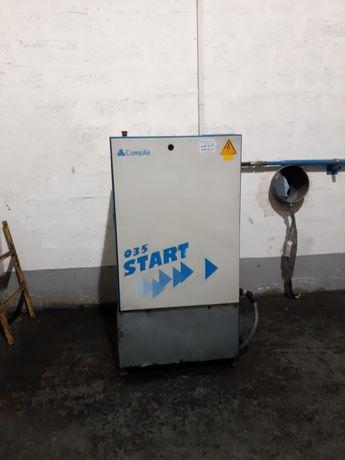 Sprężarka kompresor manessman demag start sprint regata filtr