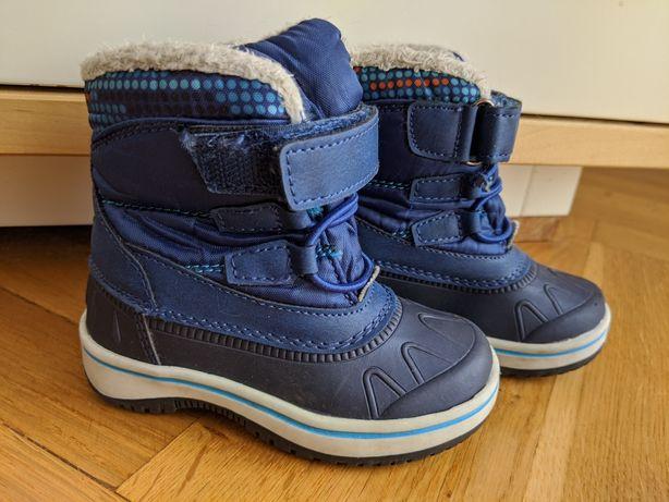 Buty kozaki śniegowce 21