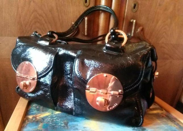 Кожаная сумка MIMCO